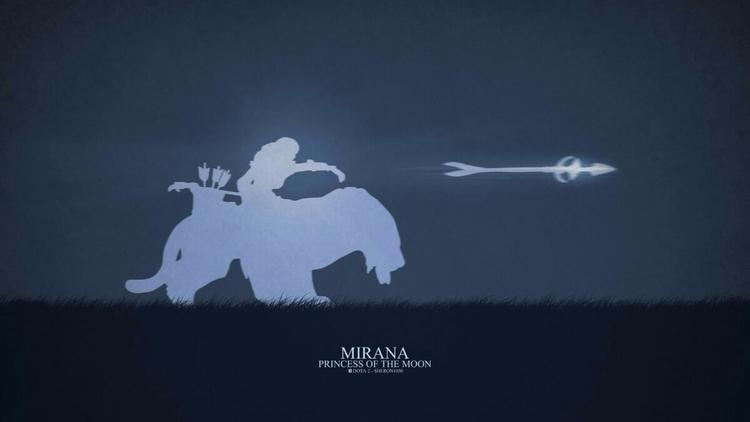 Mirana - Princess Moon dota dot - rezha | ello