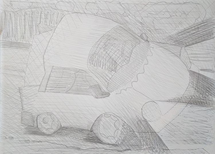 Night Driving - graphiteonpaper - markbarry | ello