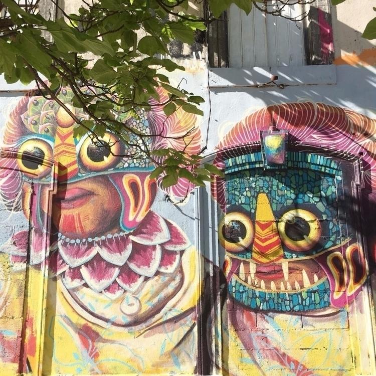 Eyes - street, streetart, streetartist - philippefabry | ello