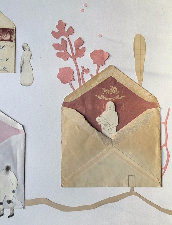 Magical collages envelopes Cami - sandraapperloo | ello