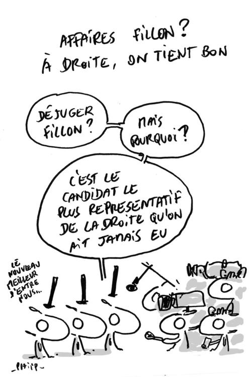 La droite parle des - affaires, fillon - phiip | ello