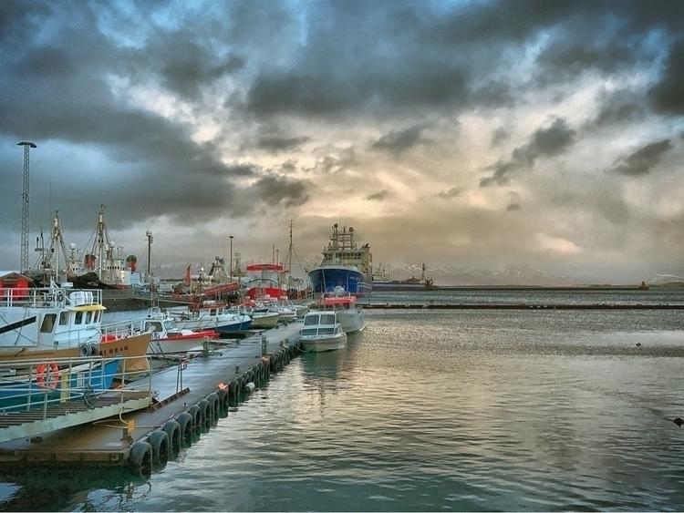 Lovely stroll harbour Reykjavik - raynanator | ello