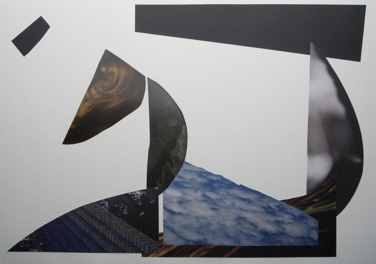 Merlins beard, Collage - art, abstract - wrjenkinson   ello