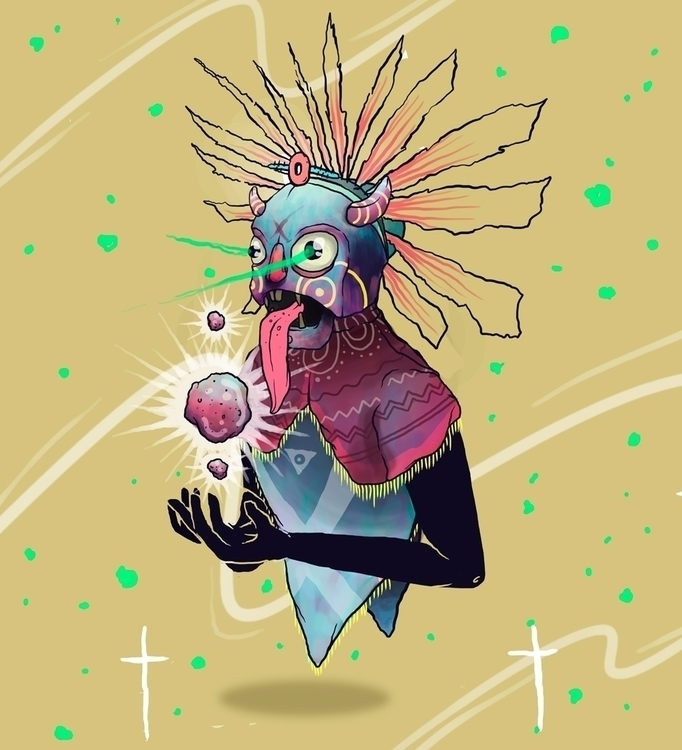 times die - Illustration, newonello - kenrigomez | ello