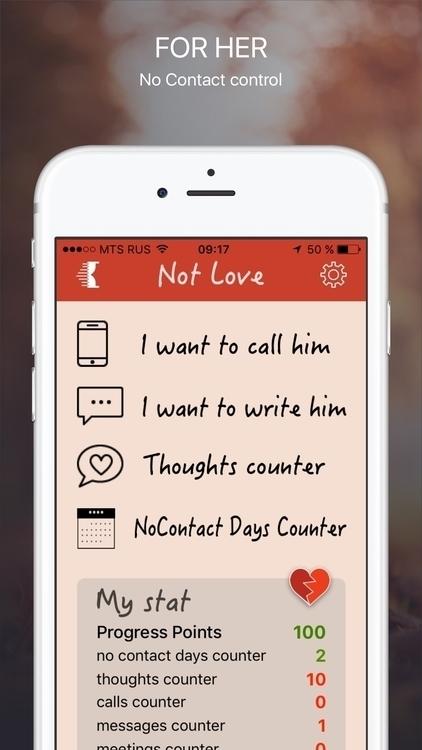 Love - iPhone app forget bad lo - oleka | ello