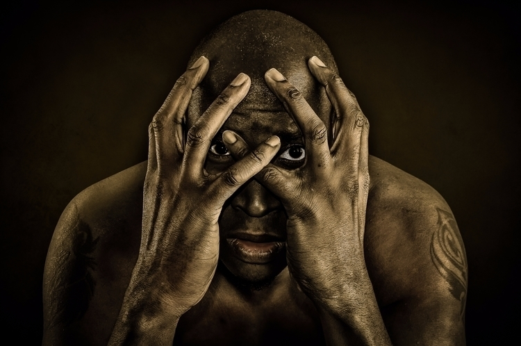 Desperate Afraid - SelfPortrait - ricardowilliams | ello
