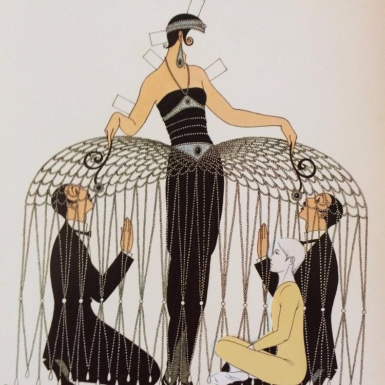 Unglues series. Paper doll 04 - fashion - danielletcole | ello