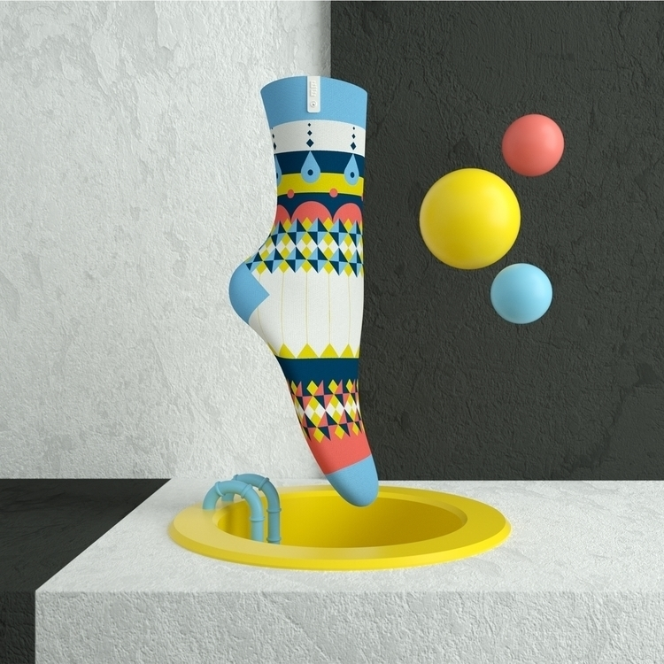 Sock Alexander Peifer  - zehnzehnsocks | ello