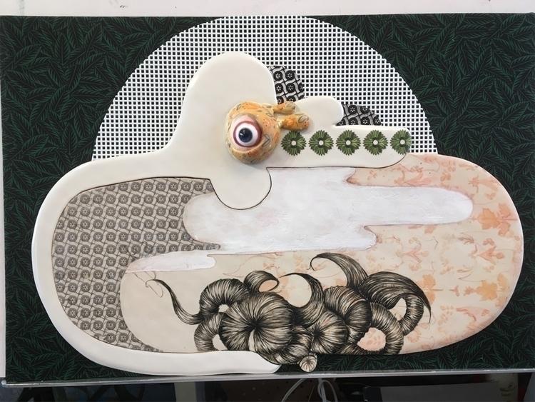 working - ceramics, drawing - april_d_felipe | ello