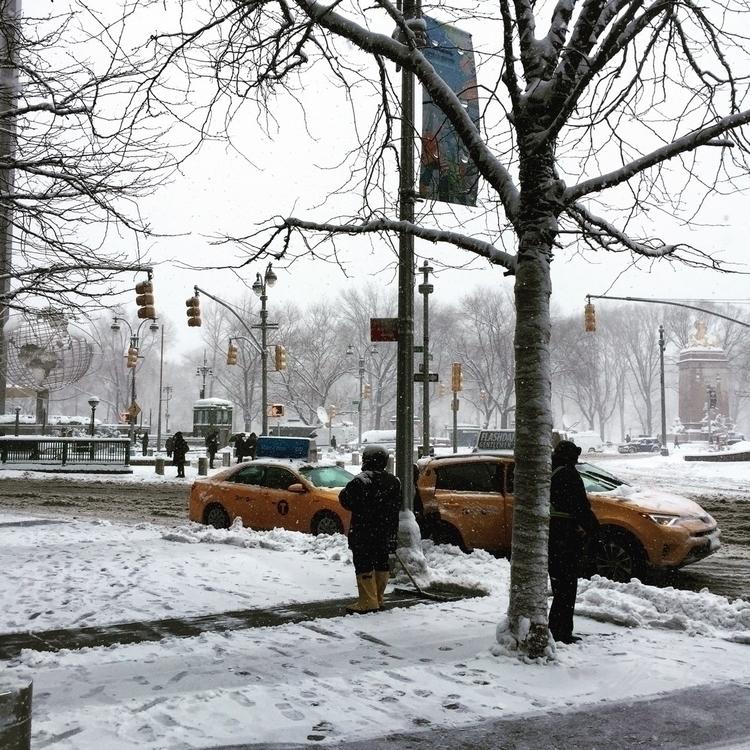 CENTRAL PARK Manhattan. snow st - valanglade | ello
