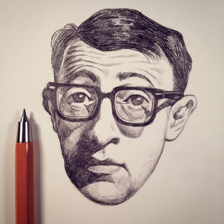 Woody - sketchbook, sketch, paper - mrbraintree | ello