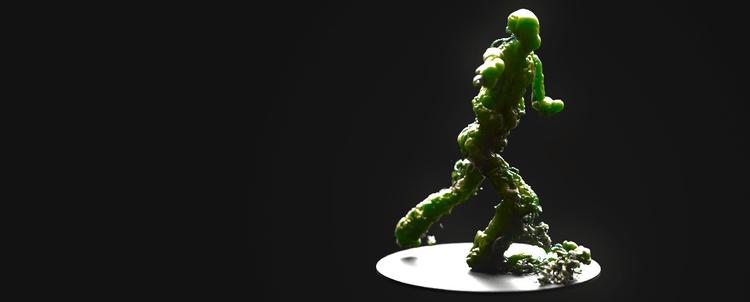 20170210 - Houdini, 3D - theart | ello
