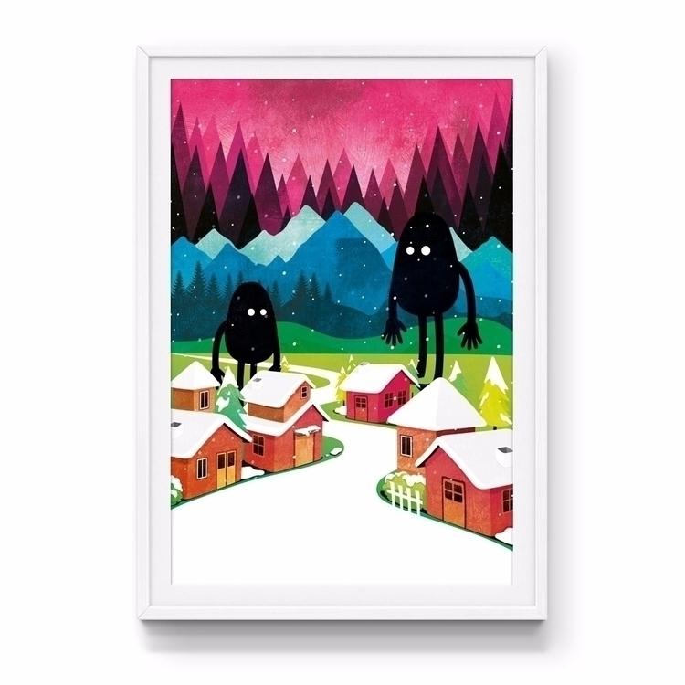 'Locals' art print - jamesenjoyrelax | ello