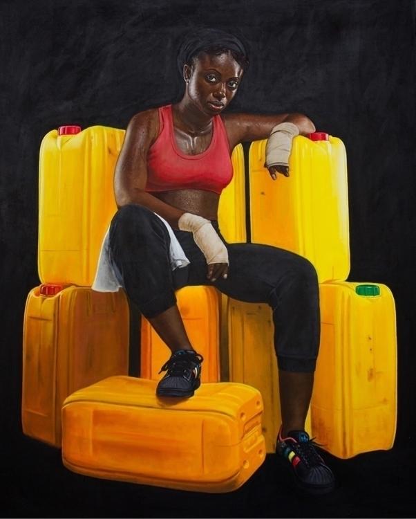 Jeremiah Quarshie Yellow color  - blackartmatters | ello