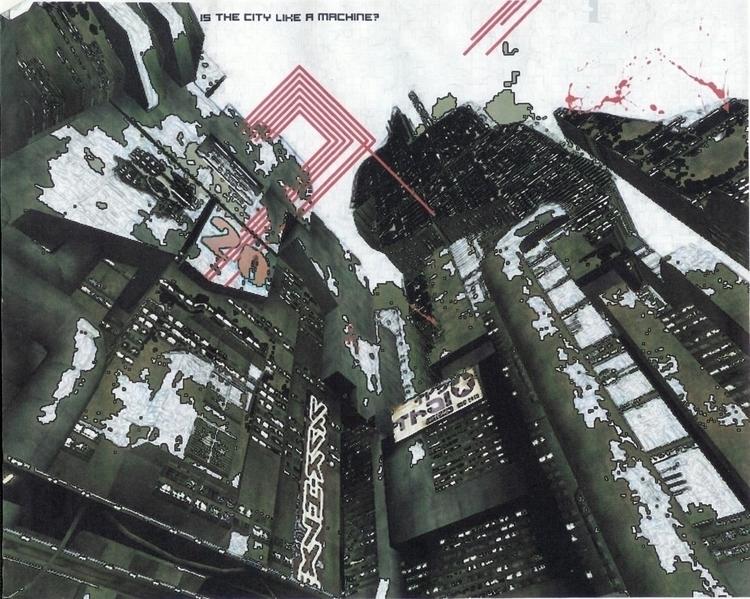 futurism violence - art, postmodern - jio_and_her_rags | ello