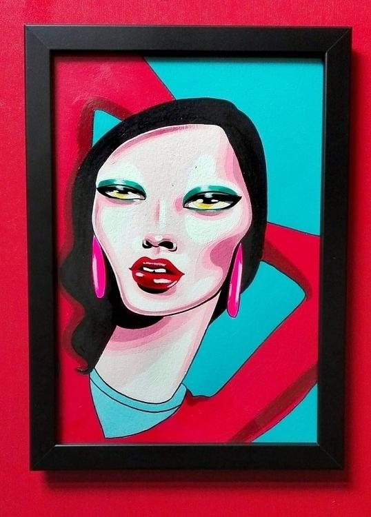 Acrylic paper 21x30 cm - zeldabomba | ello