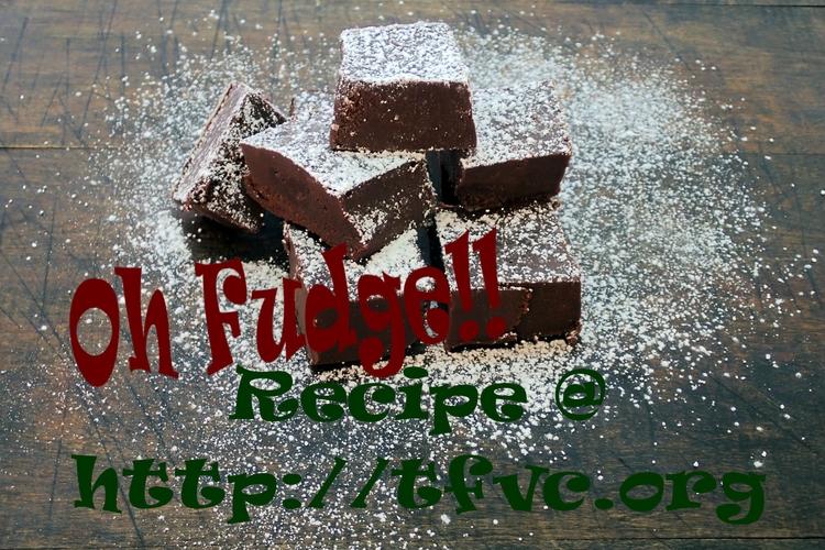Fudge!! Today making easy fudge - thefatveganchef | ello