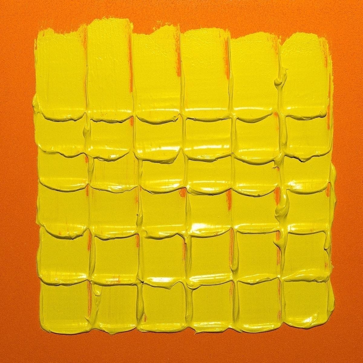 Yellow Light Orange 12 Acrylic  - andrew_faris   ello