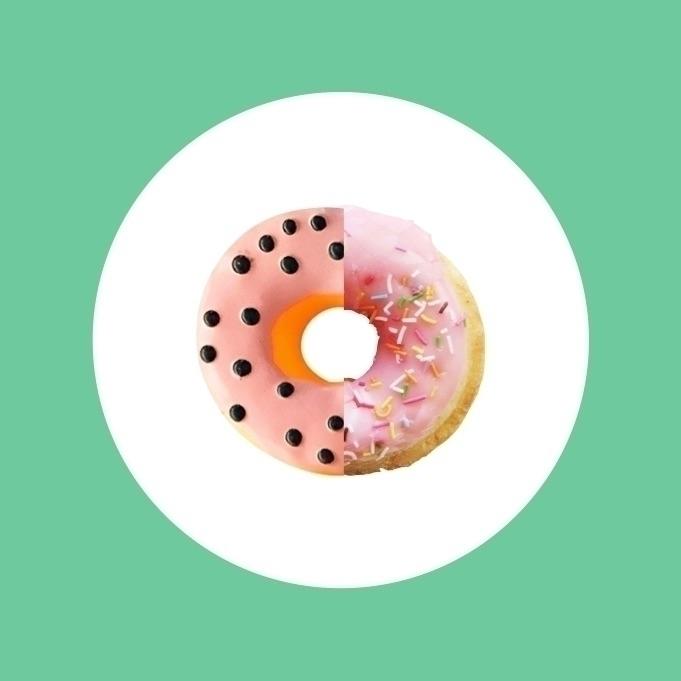 center donut 100% fat free - design - jakesmelker | ello