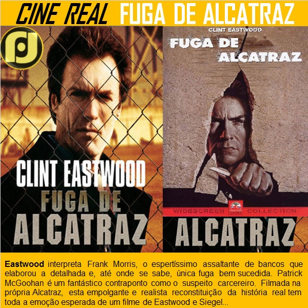 Cine Real: Fuga de Alcatraz - oblogdojf - jfhyppolito | ello