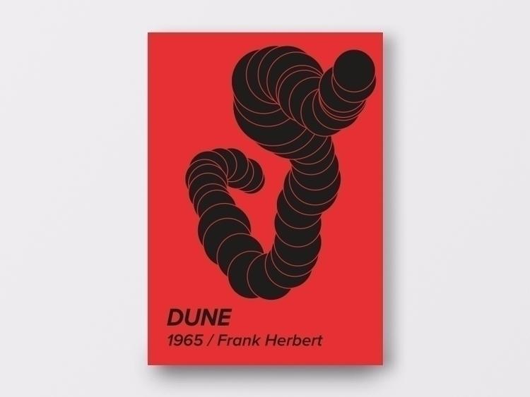 DUNE - design, scifi, poster, minimal - ohkrapp | ello