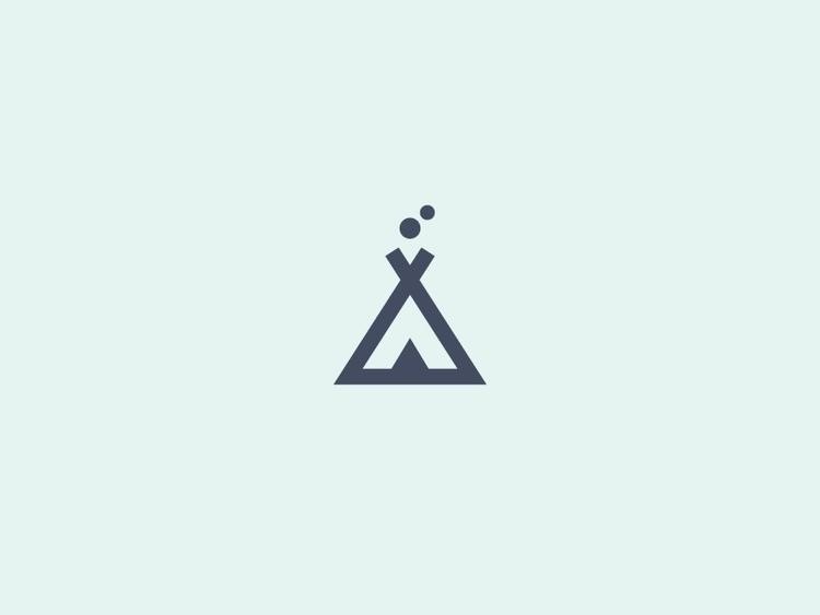 Minimalist Tipi (01/365 - design - darumacreative | ello