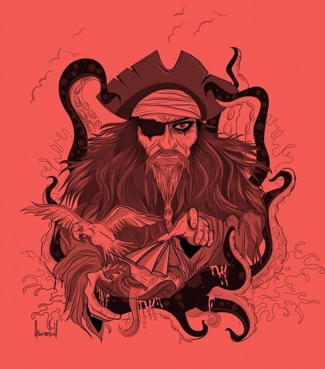 Yo Ho! (Drink 'earties - illustration - heyharold | ello
