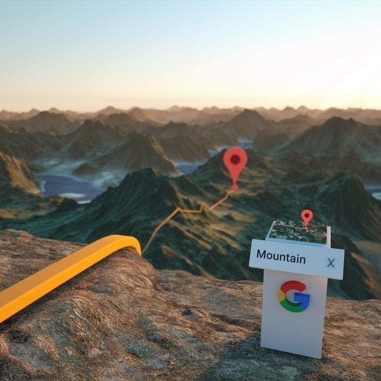 Daily Renders: Spatial Apps - 3drender - fynng | ello
