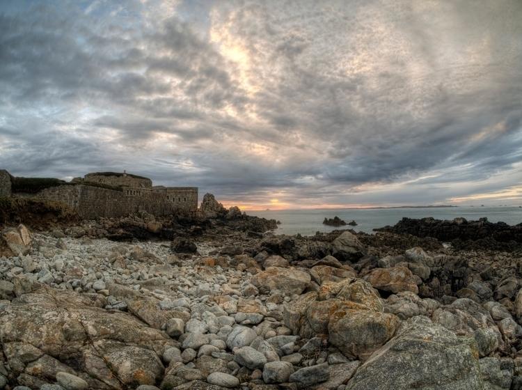 Alderney Sunset Sun Setting clo - neilhoward | ello