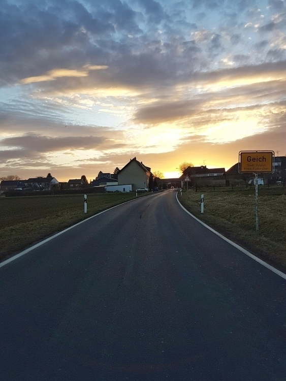 ...passing - Geich!, Sunset, Sonnenuntergang - rowiro | ello