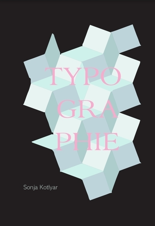 cover typography book - illustration - sonjakotlyar | ello