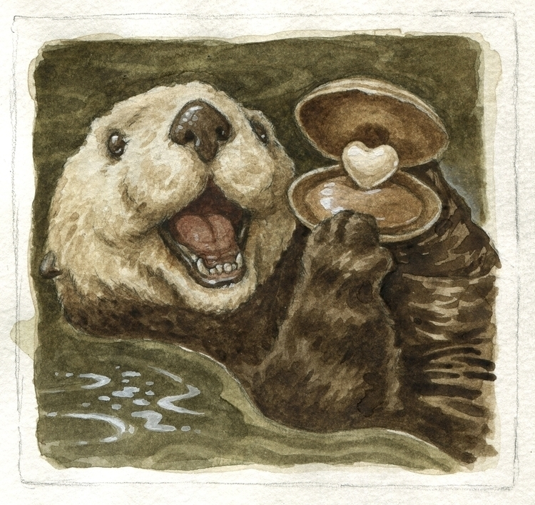 OTTER Valentine! girlfriend for - zackrock | ello