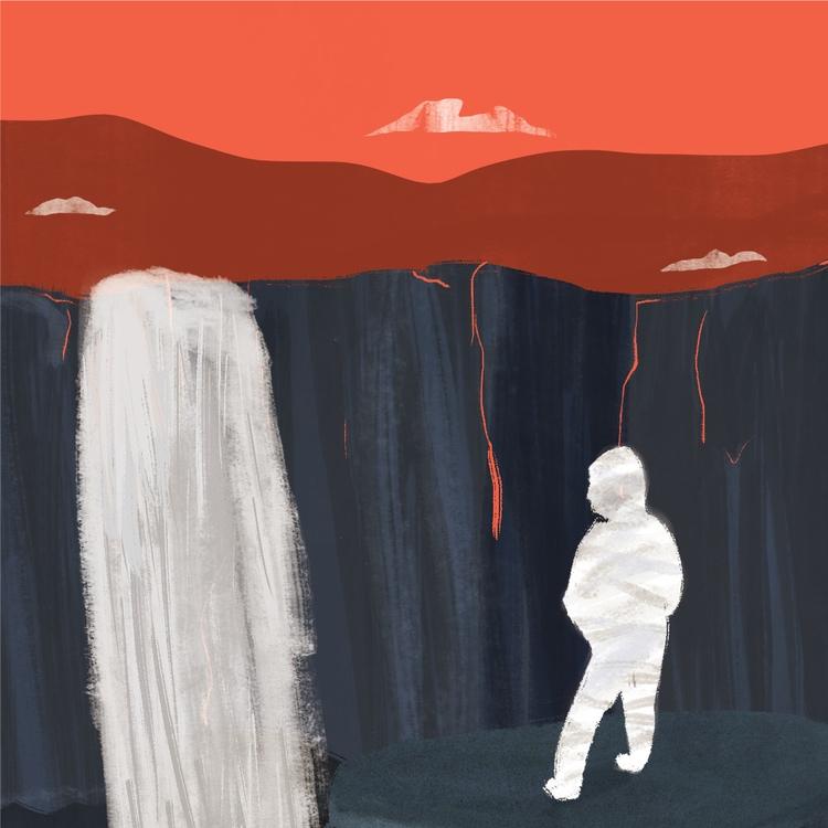 Red skies - illustration - erickmramos | ello