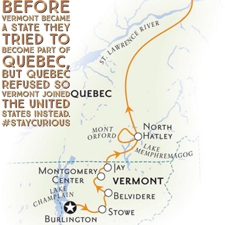 Vermont state part Quebec, Queb - curionic | ello