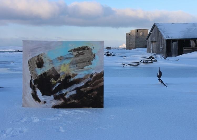Norweigen painter Kari Nordheim - fabrik | ello