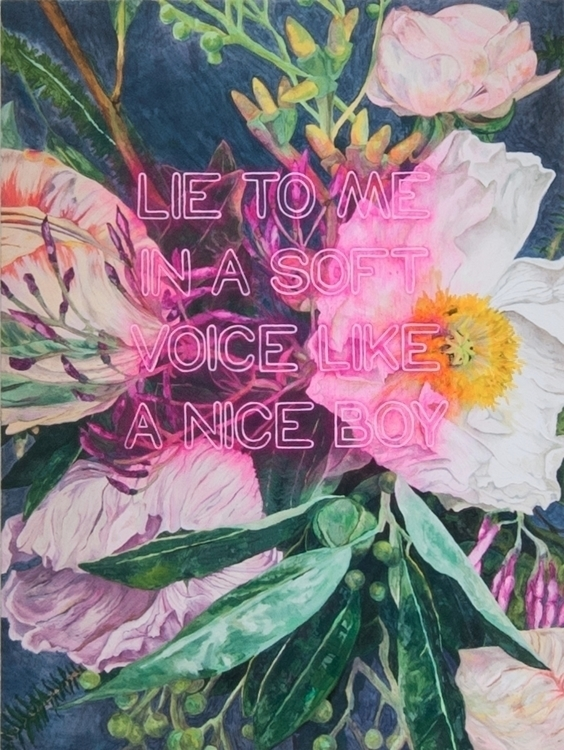 Leslie Vigeant Lie Oil Canvas 2 - freshlittlebambijerk | ello