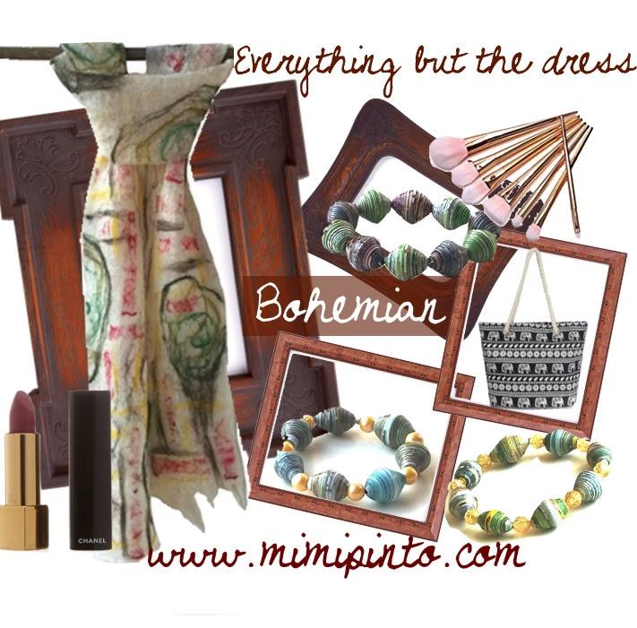 bohemian - handmade, scarves, textures - mimi-pinto | ello