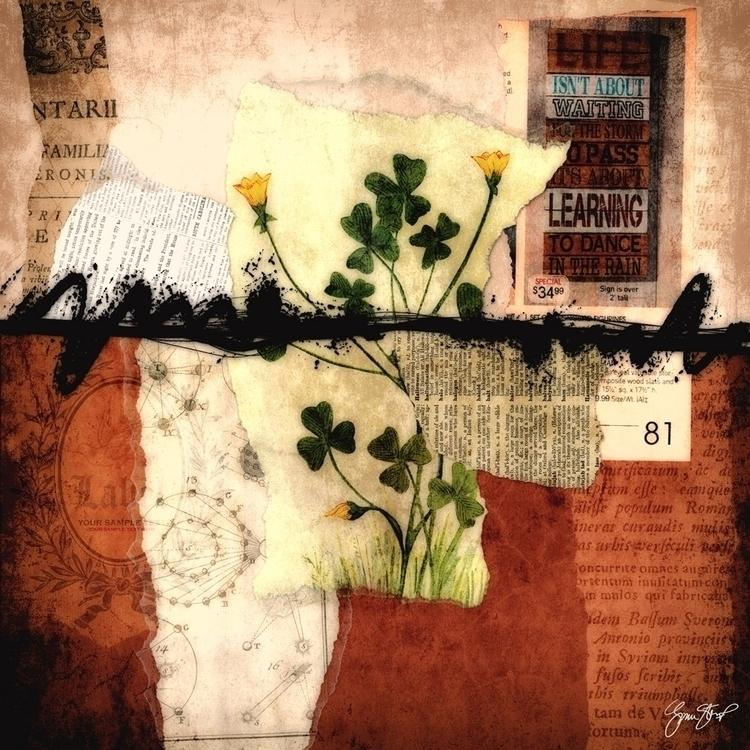 Life Waiting - collage, mixedmedia - ginastartup | ello