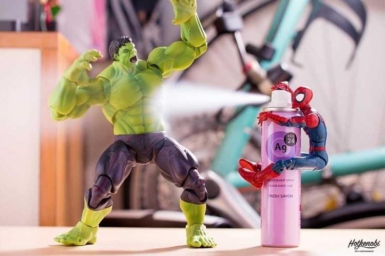 Stunning Mashup Photos Superher - photogrist | ello