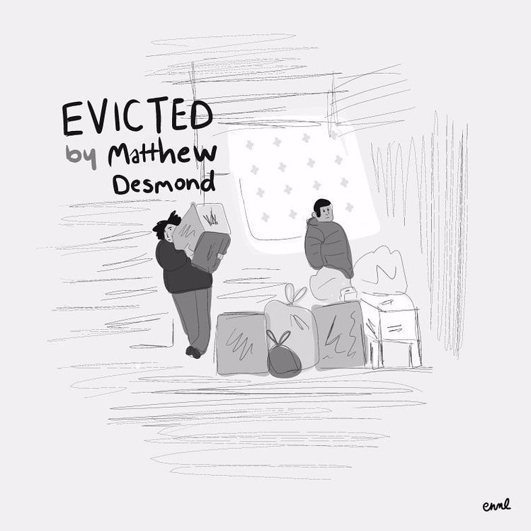 8 Evicted Matthew Desmond - emilyreadsthendraws2017: - emilynettie | ello