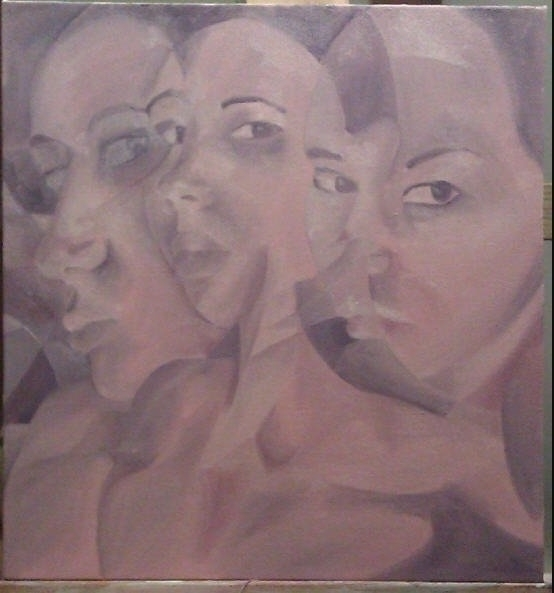 Portrait - acrylic - jennsolo | ello