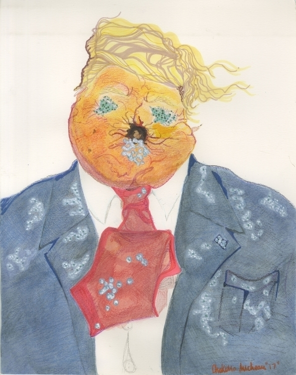 Impeach Peach - corruption, portraits - ccmicheau | ello