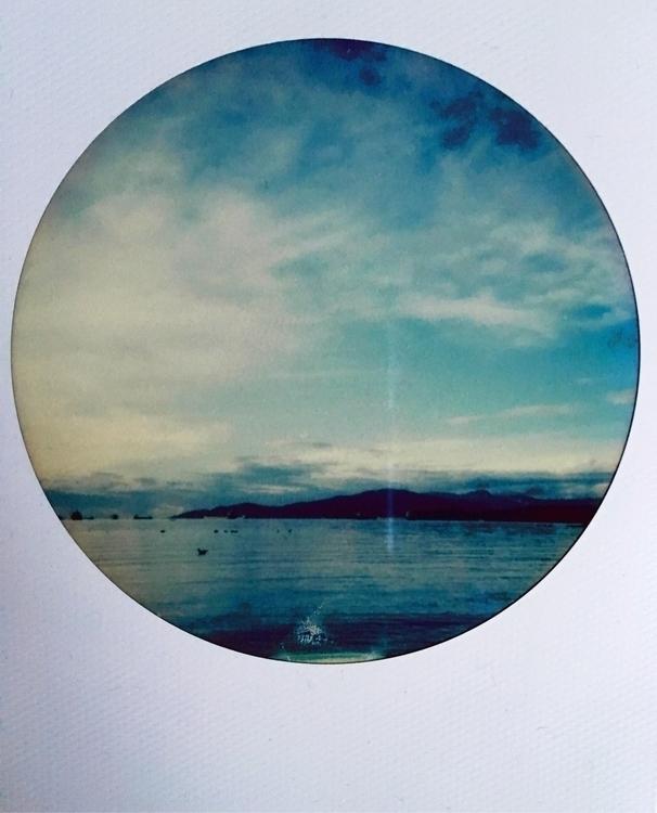 English Bay Beach, Vancouver - Polaroid - jkalamarz   ello