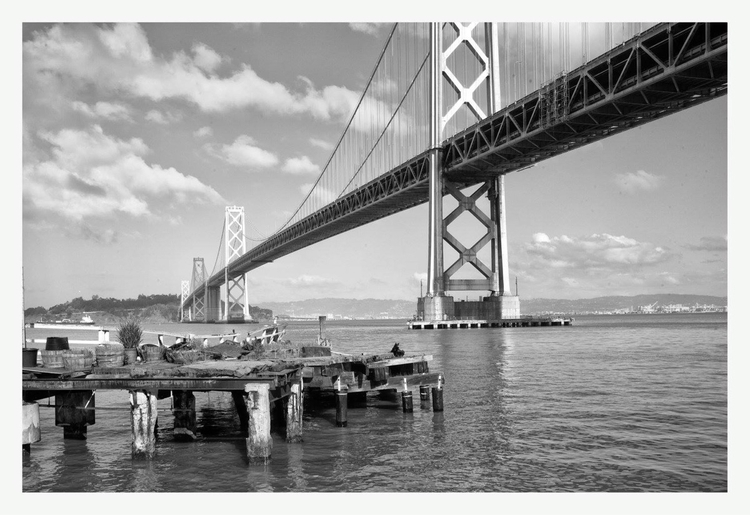 San Francisco Bay Bridge - guillermoalvarez | ello