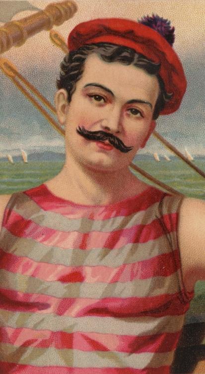 Detail, cigarette ad, 1880s - arthurboehm | ello