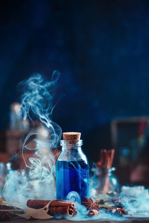 Potions Poisons work backstages - dinabelenko   ello