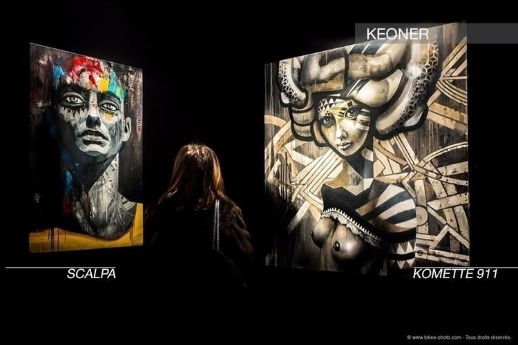 Scalpa meet Komette 911 world K - velvetandpurple | ello