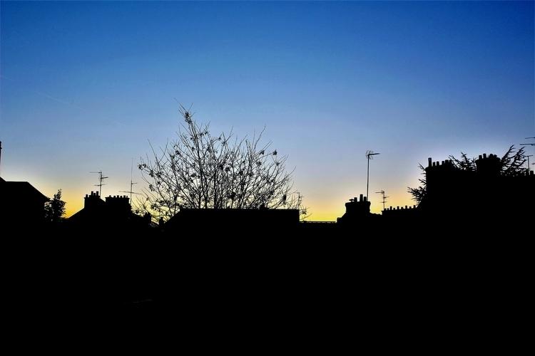 Sunset chimneys - Paris, France - bdv_productions | ello