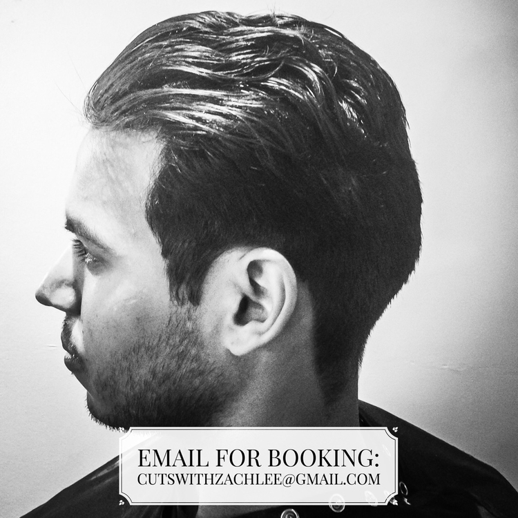 Email bookings cutswithzachlee - charliercuts | ello