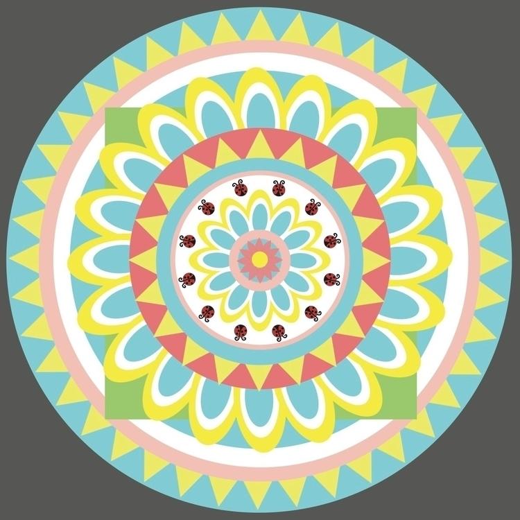 Spring Mandala Homework  - WIFT - janelysc   ello